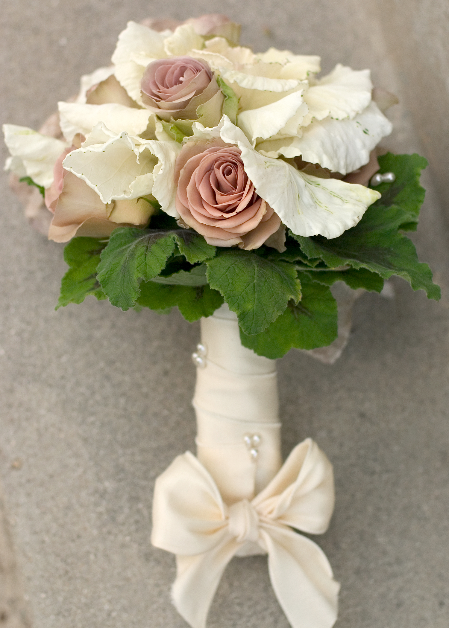 Day 11 Kale And Roses A Vintage Inspiration Floral Design By