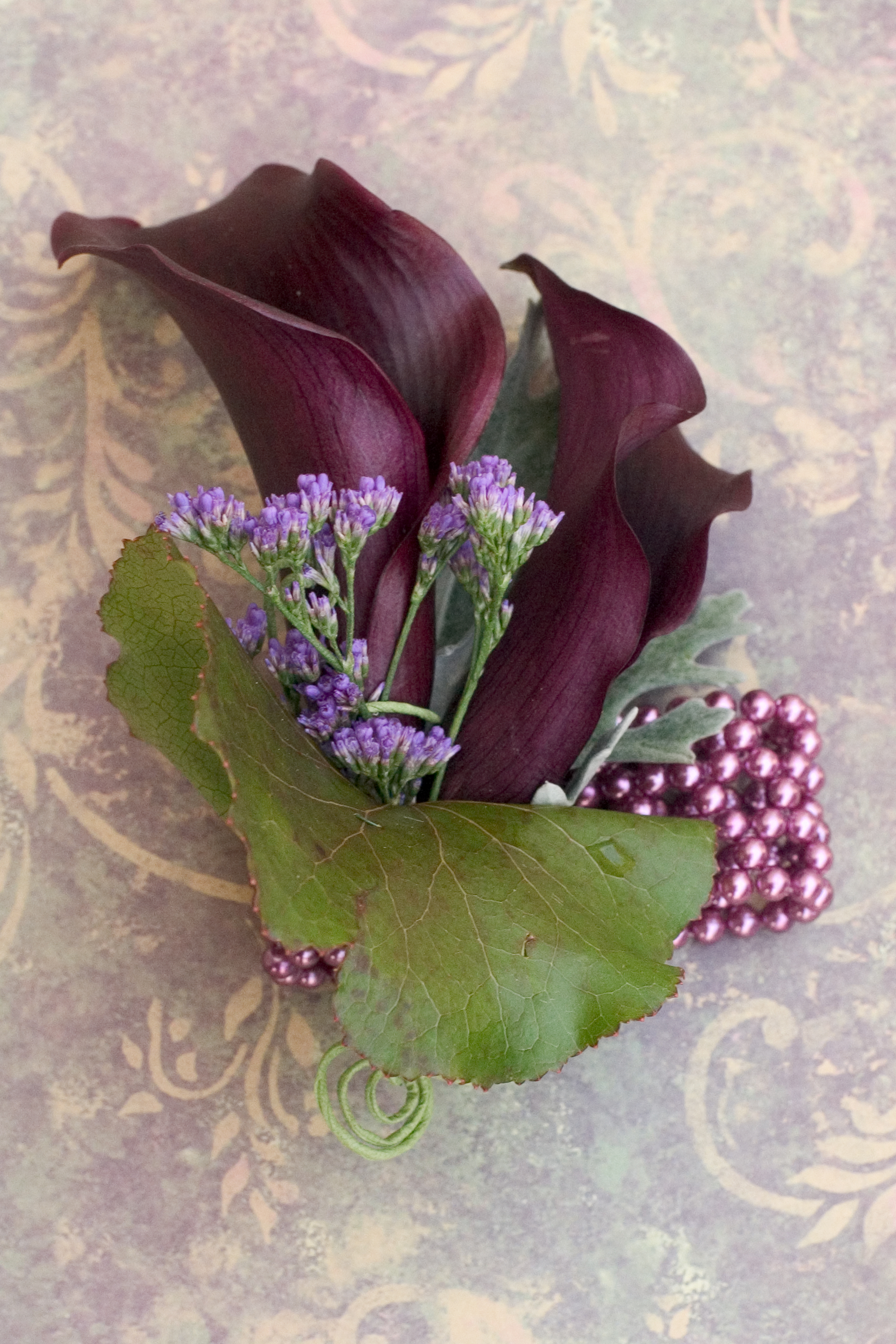 Earthy Purple Wedding Flowers Floral Design By Jacqueline Ahnes Blog