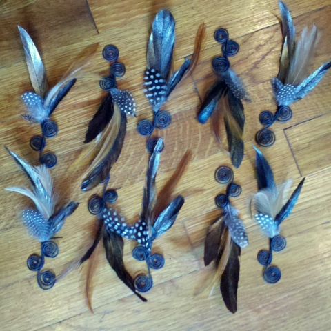 https://www.etsy.com/listing/102425995/copper-and-polka-dot-feather-boutonniere?ref=v1_other_2