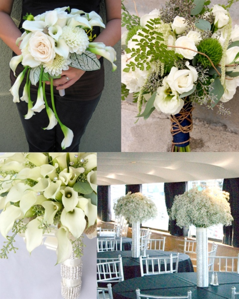 2012 White Flowers; Floral Design By Jacqueline Ahne